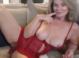 Webcam porno con una señora de más de cincuenta
