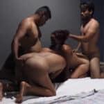 imagen De trio de lesbianas a follada en grupo